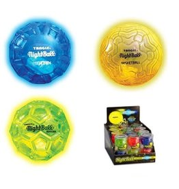 Tangle Tangle NightBall - Mini (assorted blue, green, yellow)