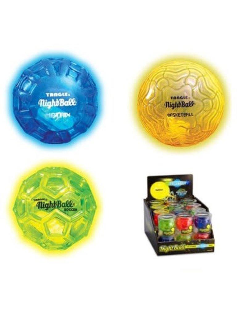 Tangle Tangle NightBall - Mini Ball (Assorted)