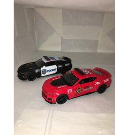 Toysmith Toysmith Die-cast 2017 Camaro ZL1 (Police & Fire Assorted)