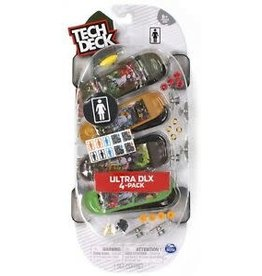 Spin Master Tech Deck 4-pack - Ultra DLX