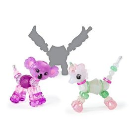 Spin Master Twisty Petz 3-Pack - Queenie Koala, Snowflakes Unicorn, & Surprise