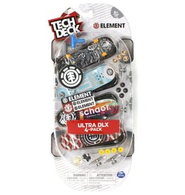 Spin Master Tech Deck 4-Pack - Element