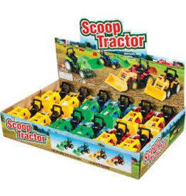 Toysmith Scoop Tractor Assorted