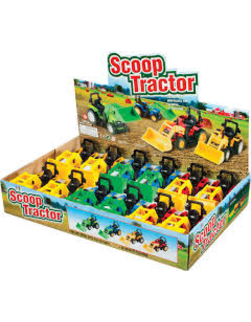 Toysmith Toysmith Die-cast Scoop Tractor (Assorted)