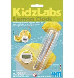 Toysmith Science Kit 4M KidzLabs Lemon Clock