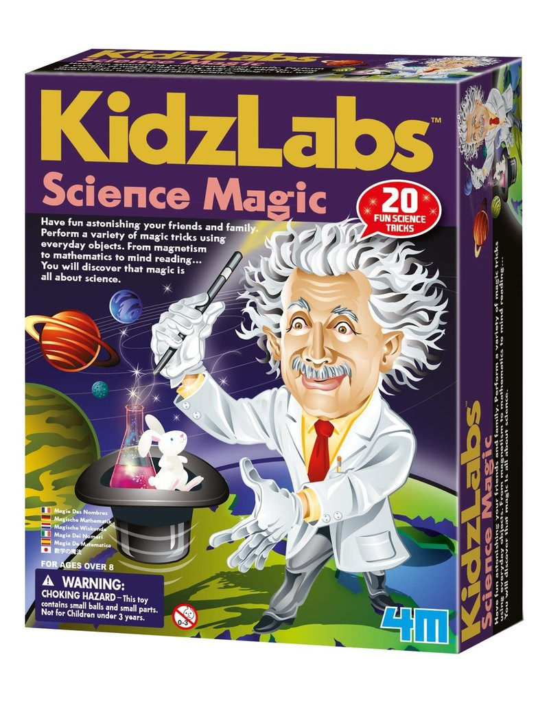 Toysmith KidzLabs Science Magic Kit