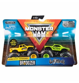 Spin Master Monster Jam 2-pack 1:64 Brodozer and Gas Monkey