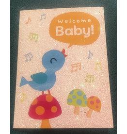 Mindware Bird on Mushroom Baby Card