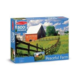 Melissa & Doug Peaceful Farm Puzzle - 500 pc