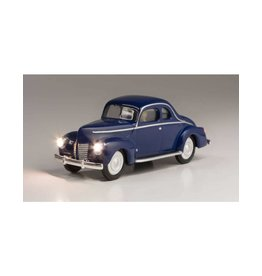 Walthers Hobby Woodland Scenics - Just Plug Blue Coupe