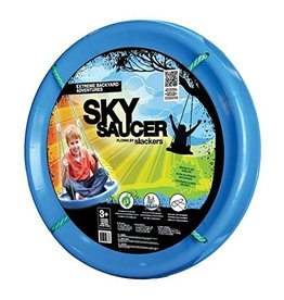 b4 Adventure Slackers Sky Saucer Swing - Blue