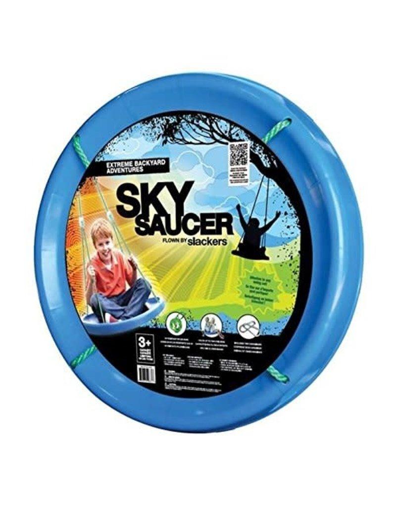 b4 Adventure Slackers Sky Saucer Swing - Blue