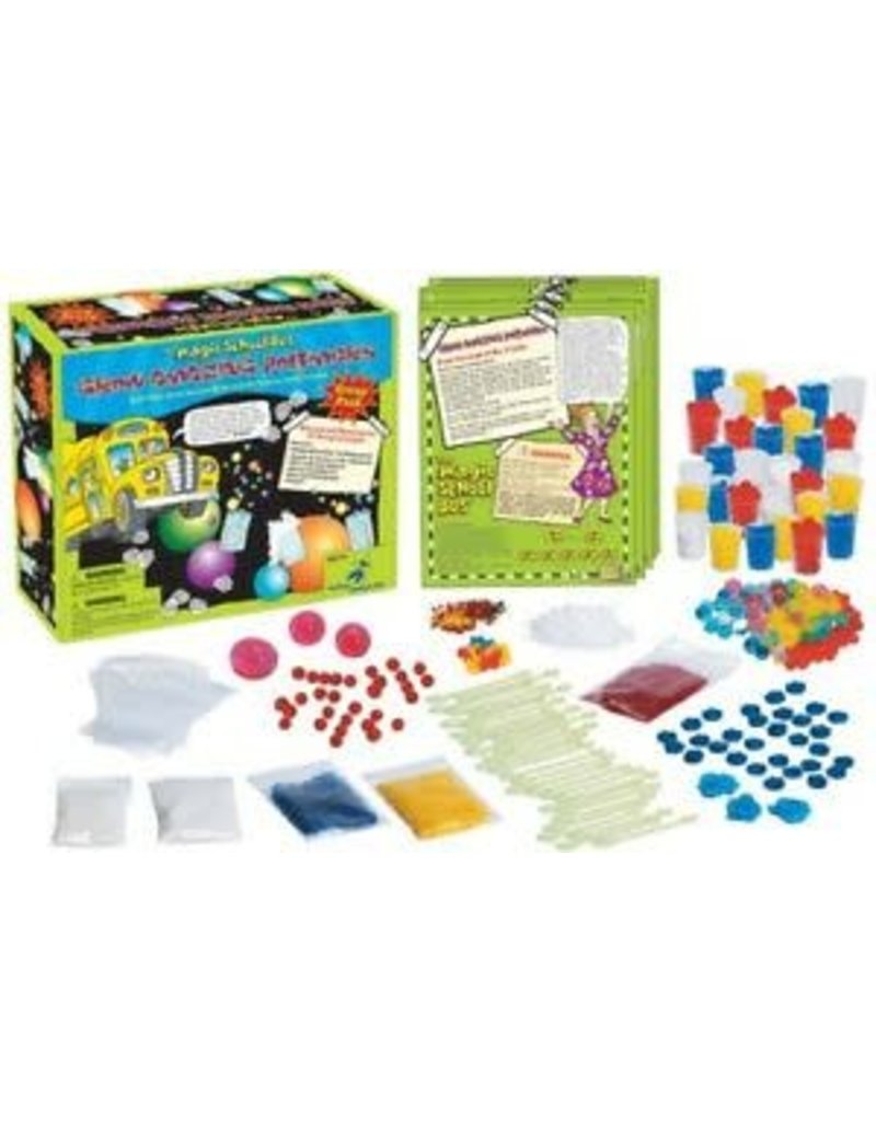 The Young Scientist Club The Magic School Bus - Grow Amazing Polymers Group Pack