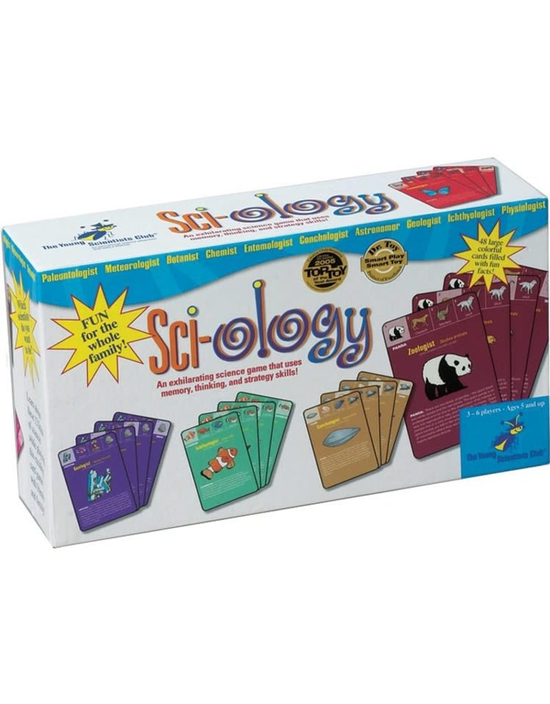 The Young Scientist Club Sci-ology: an exhilarating science card game