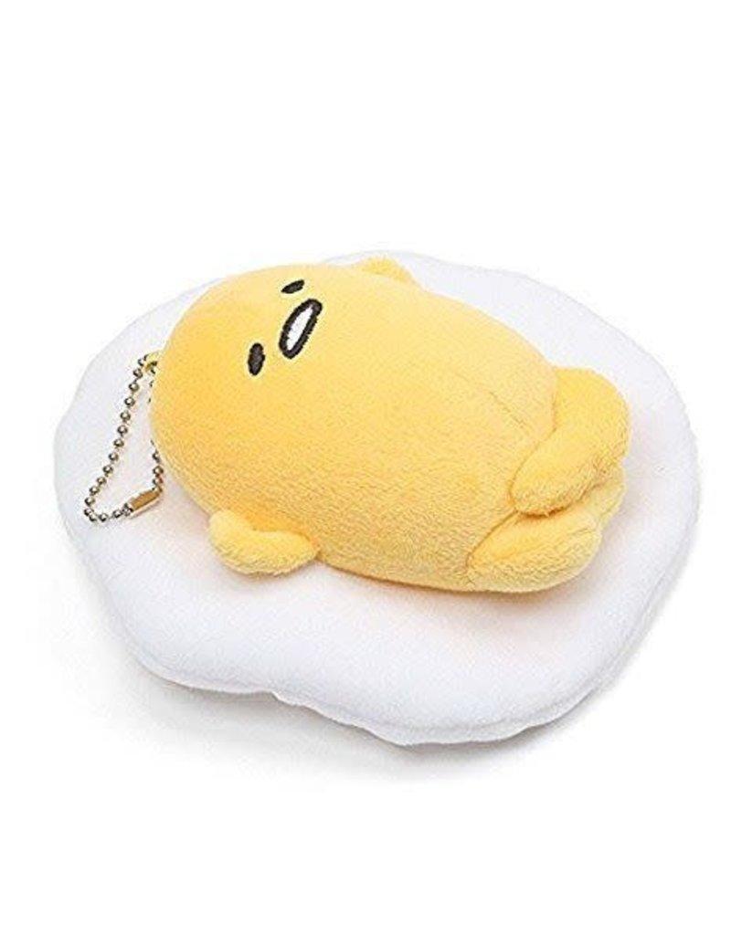 Gund Keychain Plush Relaxing Gudetama
