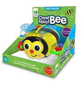 The Learning Journey Baby Crawl About Bee