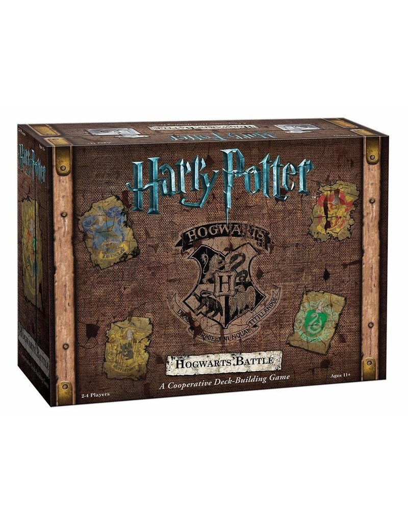 USAopoly Harry Potter Hogwarts Battle: A Cooperative Deck-Building Game