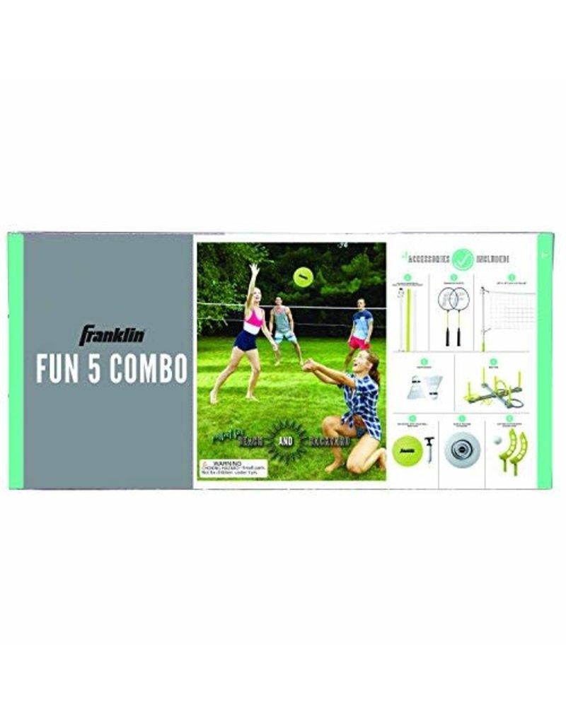 Franklin Sports Fun 5 Combo Yard Games