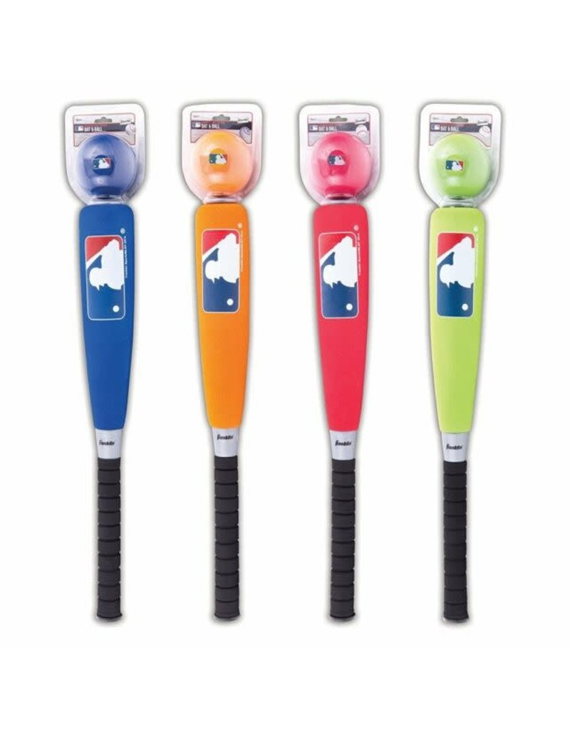 Franklin Sports MLB Oversized Foam Bat and Ball (Colors Vary)