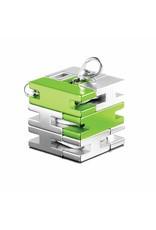 playableART PlayableART - Bracelet Cube - Silver / Green