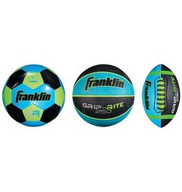 Franklin Sports Mini 3-Ball Combo Pack - Blue