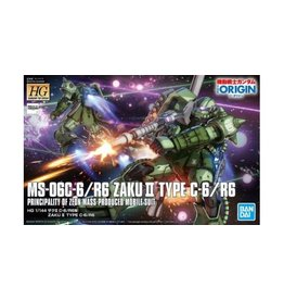 Bandai Hobby MS-06C-6/R Zaku II Type C-6/R6 Principality of Zeon Mass-Produced Mobile Suit