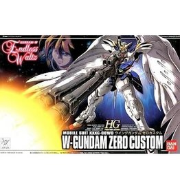Bandai Mobile Suit XXXG-OOWO W-Gundam Zero Custom