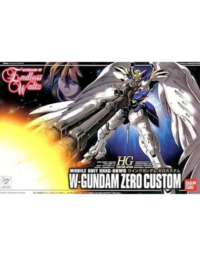 Bandai Hobby Mobile Suit XXXG-OOWO W-Gundam Zero Custom