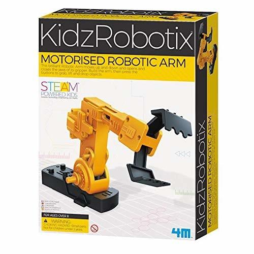 A robotic mechanical arm.