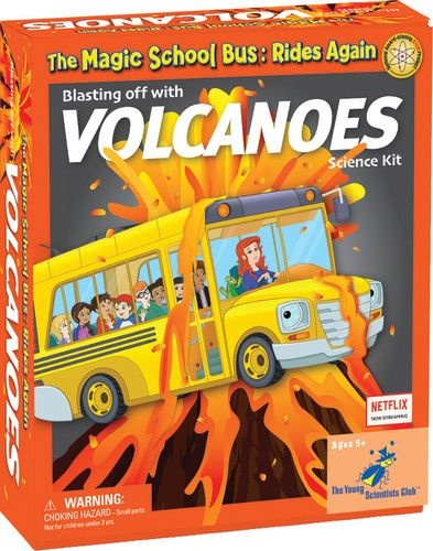 Magic School Bus Blasts Off With Volcanoes.