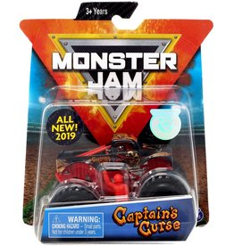 Spin Master 1:64 Monster Jam Truck - Captain's Curse