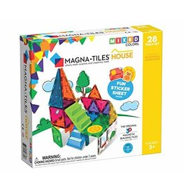 Veltech/Magnatiles Magna-Tiles House Mixed Colors 28 Piece Set
