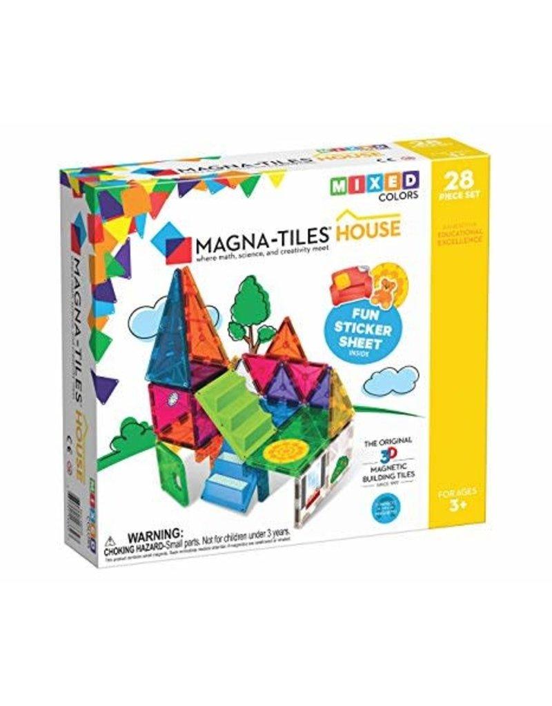 Veltech/Magnatiles Magna-Tiles House Mixed Colors 28 Piece Set