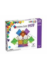 Veltech/Magnatiles Magna-Tiles Freestyle Clear Colors 40 Piece Set