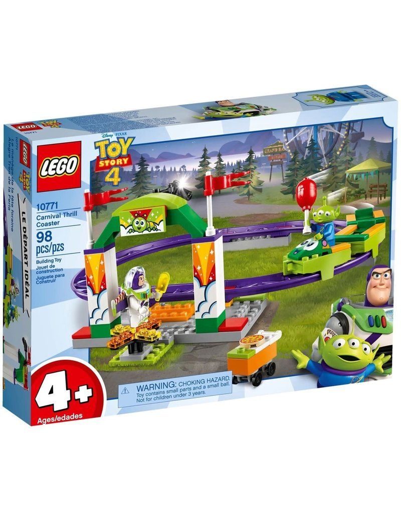 LEGO LEGO Toy Story 4 Carnival Thrill Coaster