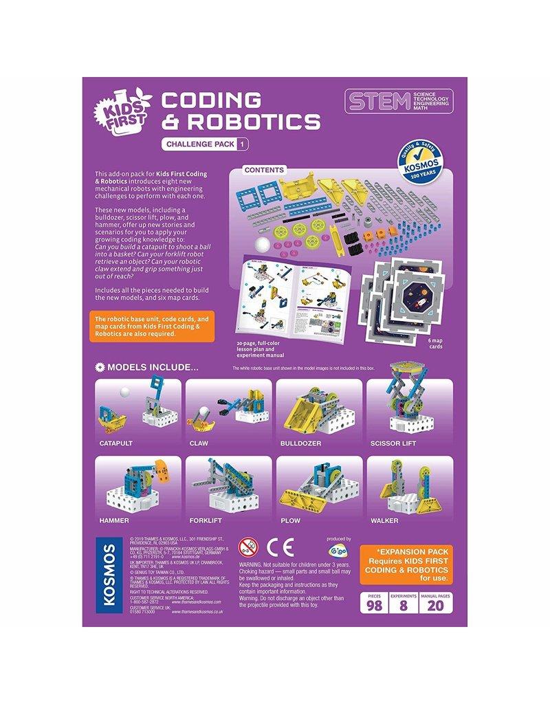 Kids First Coding & Robotics: Challenge Pack 1