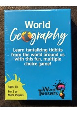 Word Teasers Game Word Teasers - World Geography