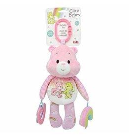 Kids Preferred Baby Plush Care Bears - Developmental Toy Cheer Bear - Pink