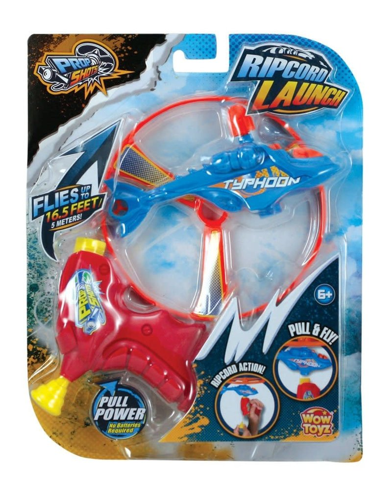 Wowtoyz Prop Shots Ripcord Launch Action - Helicopter