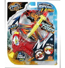 Wowtoyz Prop Shots Ripcord Launch Action - Biplane