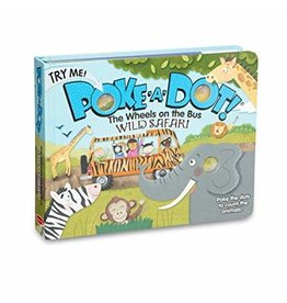 Melissa & Doug Poke-A-Dot Book: Wheels on the Bus