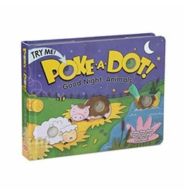 Melissa & Doug Poke-A-Dot Book: Goodnight, Animals