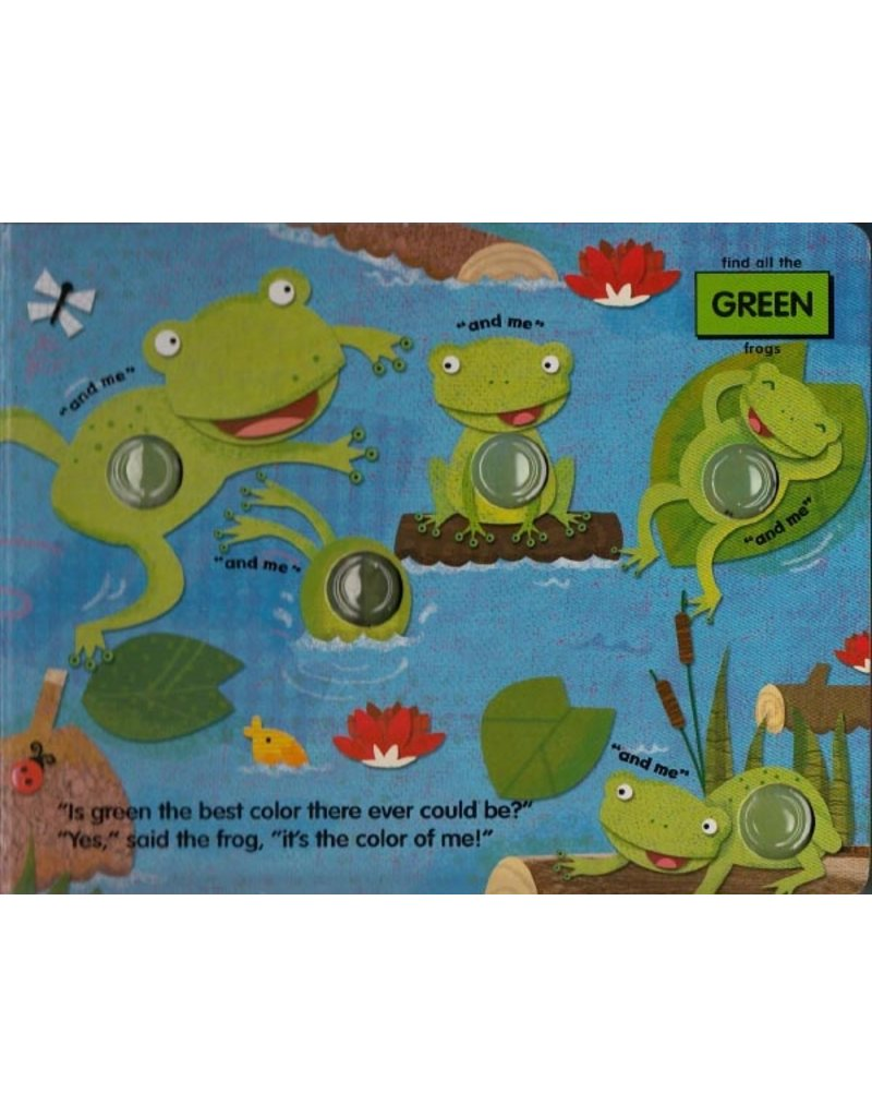 Melissa & Doug Poke-A-Dot Book: What's Your Favorite Color?