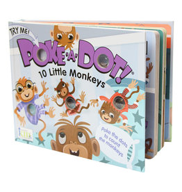 Melissa & Doug Poke-a-Dot: 10 Little Monkeys