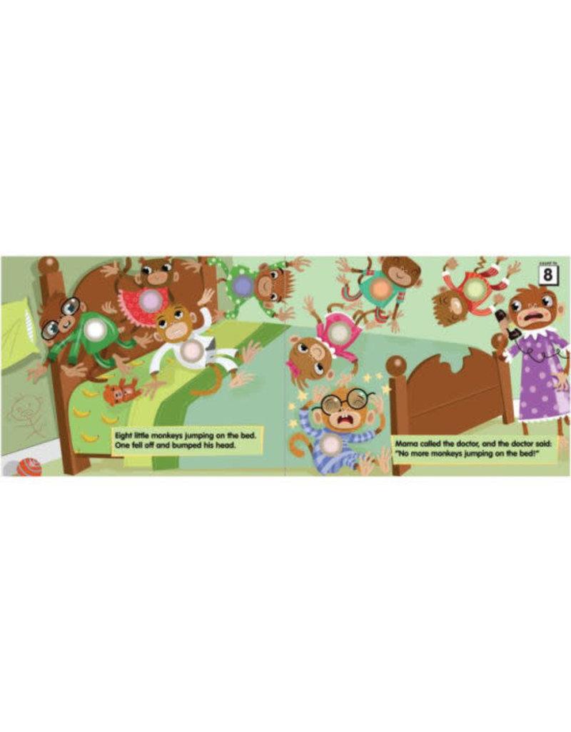 Melissa & Doug Poke-A-Dot Book: 10 Little Monkeys