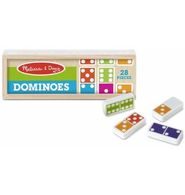 Melissa & Doug Dominoes - Melissa Doug - 28 Pieces