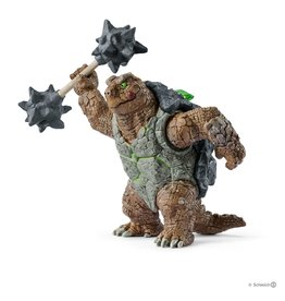 Schleich Armoured turtle with weapon