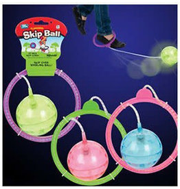 Toysmith Flashing Skip Ball Assorted