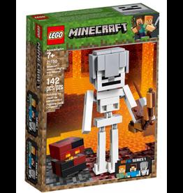 LEGO LEGO Minecraft: Skeleton BigFig with Magma Cube