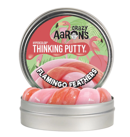 Crazy Aaron Putty Crazy Aaron's Thinking Putty - Hypercolor - Flamingo Feathers